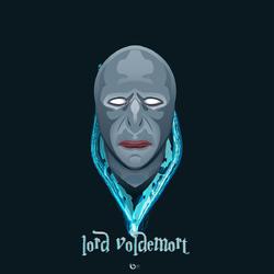 Lord Voldemort Vector Art By Golden Ratio