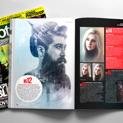 Ny Artwork on Photoshop Creative® Magazine Issue 134