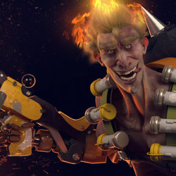 Junkrat from Overwatch