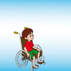Disabled child activist