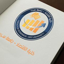 فكرة شعار كلية الاقتصاد - Faculty of economics logo idea