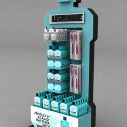 Listerine Dental stand