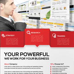 1 -  Corporate / Business Flyer Template