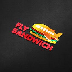 شعار وهوية مطهم Fly Sandwich