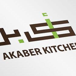akaber kitchen identity design
