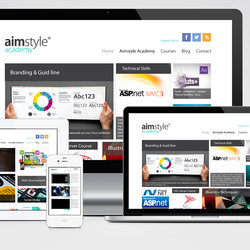 Aimstyle Academy website