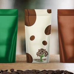 تصميم غلاف كيس قهوة