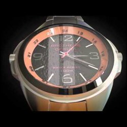 Brothers design watch