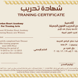 frames and Certificates