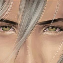 eyes ~ 1 layer digital painting