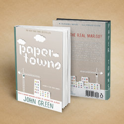 Paper Towns Book Cover (Redesigned)