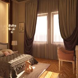 تصميم غرفة نوم لفتاة صغيرة