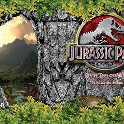 Jurassic Park Magazine (In Design)