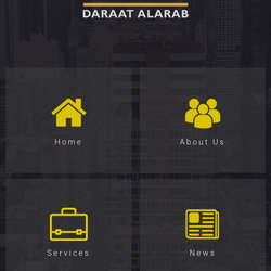 Daraat Al-Arab Website & Mobile App