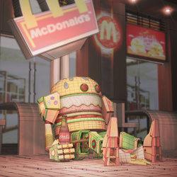 Robot Mc Donald's