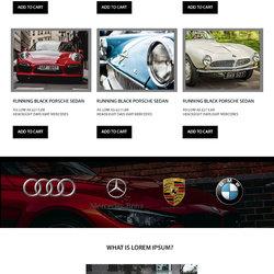 used car web site