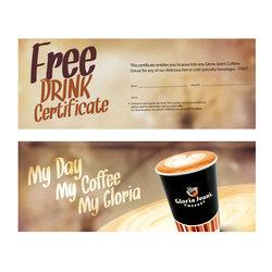 Gloria jeans coffee's promo.