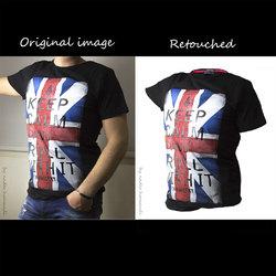 Shirt Photo Shoot & Retouching
