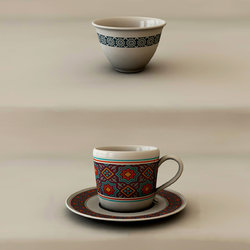 Eastern Traditional Cups V1.0 3D Models