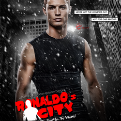 Poster Ronaldo's City : The City Of The Best In The World