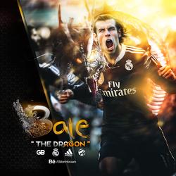 Gareth Bale: The Dragon [Retouching,PhotoManipulation]