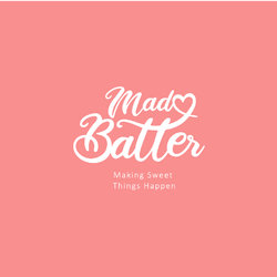 mad batter branding and logo