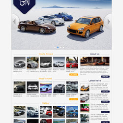 Cars Website Designs