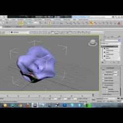How to modeling a rock in 3d max