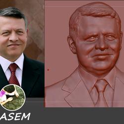 تصميم وجه  شخصية ثلاثي الابعاد   3d
