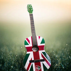 Guitar Photo composite