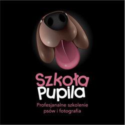 Szkoła Pupila - Dog school logo