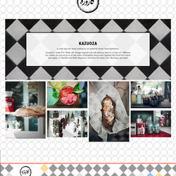 kazuoza Restaurant Website
