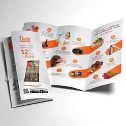 Clikat UAE, Tri-Fold Brochure