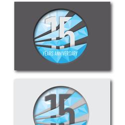 Technomania 15 anniversary invitation
