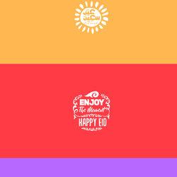 Eid el fetr typography FREE ( Ai - Eps )