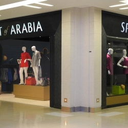 Spirit of Arabia identity & storefront design