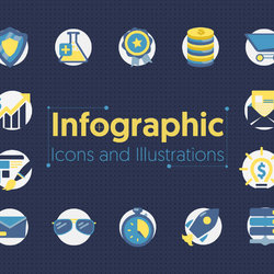 Collections of Infographic Icons & Illustrations