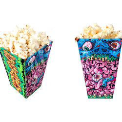 Halloween Popcorn Box Template