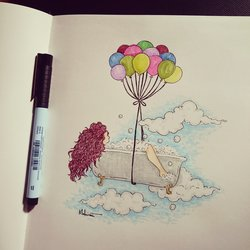 Joy in the air