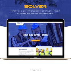 solver-me full website UI Design
