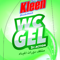 Gel wc منظف دورات المياه