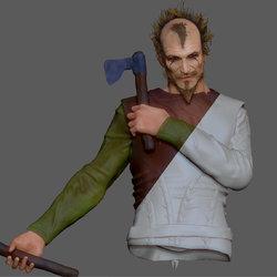 Floki 3D (vikings