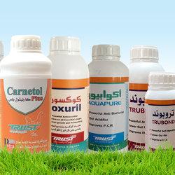 استيكر لعبوات أدوية بيطرية