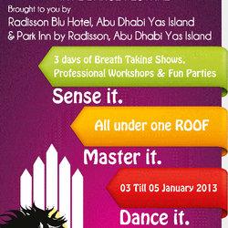 Abu Dhabi International Dance Festival Campaign