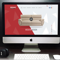 Remas Furniture PSD Template