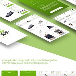 Design UX UI App e-commerce
