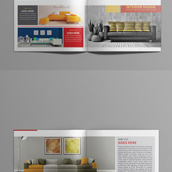 Interio Design Brochure Template