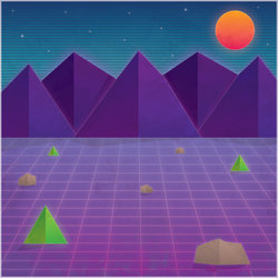 Grid Mountains