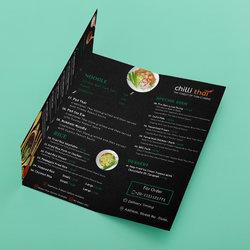 تصميم مينيو طعام (food menu)