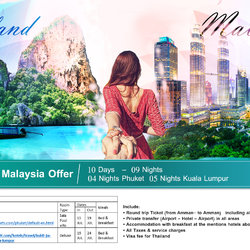 Honeymoon offer design
